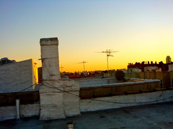 Our rooftop Astoria / Queens
