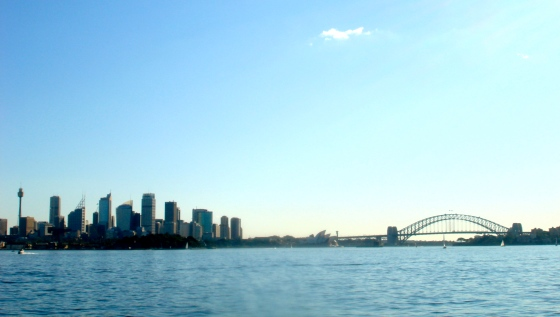 Skyline and Harbour Bridge