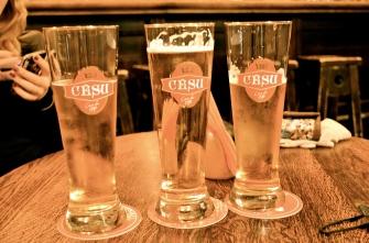 Latvian beer.