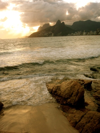 sunset @ ipanema