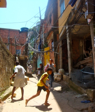 "soccer in the ""street"""